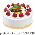 聖誕蛋糕 大蛋糕 蛋糕 32281398