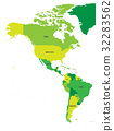 america, map, americas 32283562
