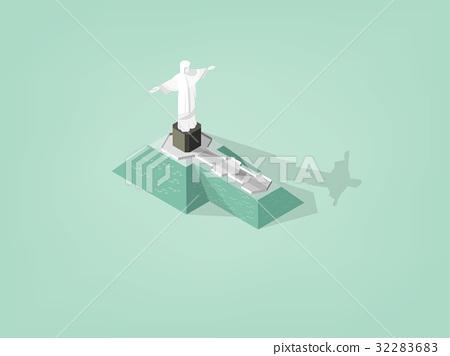 statue of christ the redeemer rio de janeiro 32283683