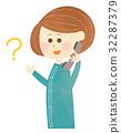 电话问题 - 女性 32287379