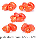 tomatoes isolated on white background. 32297329
