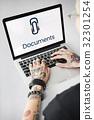 Paper Clip Mail File Attachment Graphic 32301254