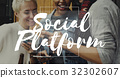Social Network Lifestyle Connection Communication Society 32302607