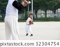 Practice of juvenile baseball 32304754