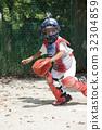 소년 야구 수비 연습 32304859
