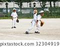 Defensive practice of juvenile baseball 32304919