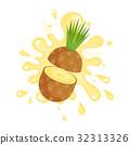 pineapple, color, splash 32313326