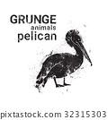 grunge, vector, silhouette 32315303