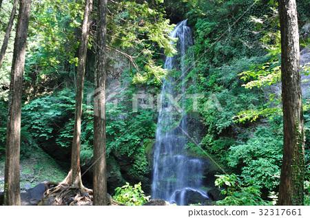 Sunset waterfall 32317661