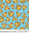 披薩 花紋 圖樣 32321047