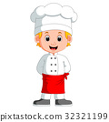 boy chef cartoon 32321199