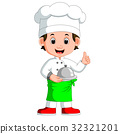 boy chef cartoon 32321201