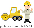 road roller, male, man 32322283