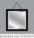 photo, blank, vector 32322914