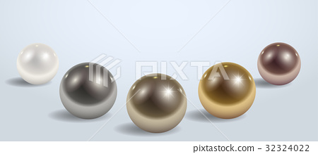 Composition of different metal balls 32324022