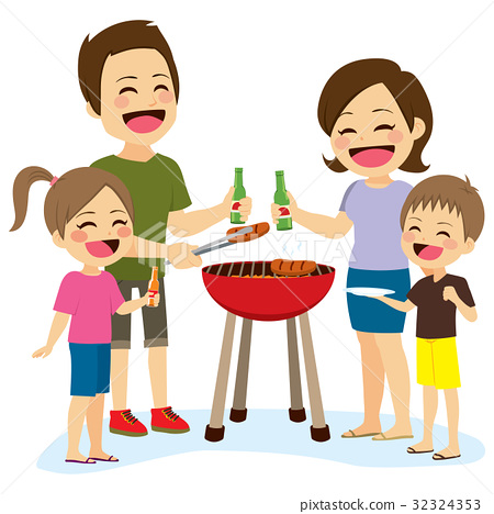 Family Barbecue 32324353