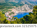 Assos Village at Kefalonia island in Greece 32325075