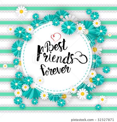 Happy Friendship Day Logo Greeting Card Friends 32327871