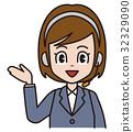 vector, vectors, telemarketer 32329090