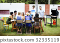 Barbeque cooking outdoor leisure party 32335119