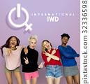 Women International Day Celebration Concept 32336598