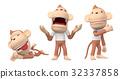 猴子 猴 人物 32337858