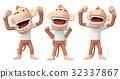 猴子 猴 人物 32337867