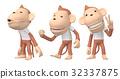 猴子 猴 人物 32337875