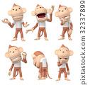 猴子 猴 人物 32337899