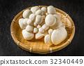 버섯 White mushroom 32340449