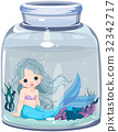 Mermaid in the jar 32342717