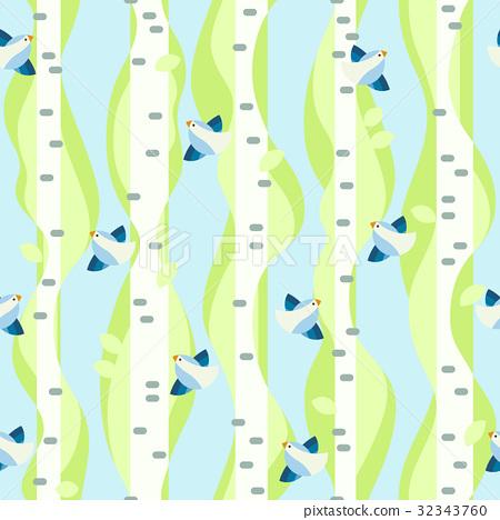 Seamless spring pattern 32343760