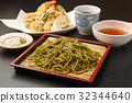 茶蕎麥麵 蕎麥麵 蕎麥冷面 32344640