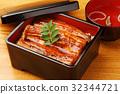 鰻魚飯 鱔魚 食物 32344721