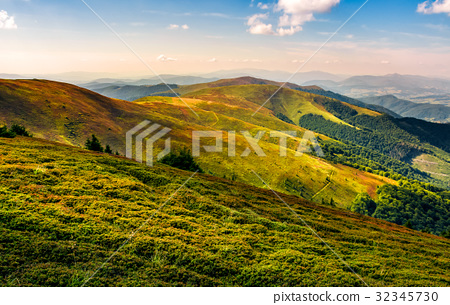 beautiful late summer landscape in mountains 32345730