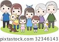 family, household, three 32346143