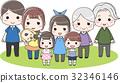 family, household, three 32346146