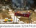 바베큐, BBQ, 숯불구이 32347410