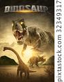 dinosaur 3D render 32349317