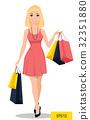 woman, shopping, beautiful 32351880