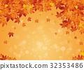 Autumn Leaf Background 32353486