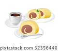 jelly roll, roll cake, swiss roll 32356440