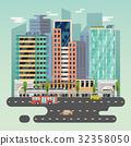 城市 向量 向量圖 32358050