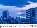 天空和東京的高層建築 32361938