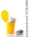 垃圾车 废物收集车 微型汽车 32362866