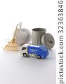 垃圾车 废物收集车 微型汽车 32363846