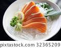 生鱼片 刺身 三文鱼 32365209