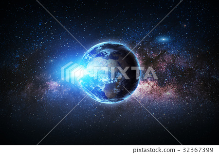 galaxy. Elements of this image furnished by NASA. 32367399