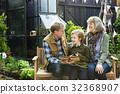 garden, grandparents, teaching 32368907
