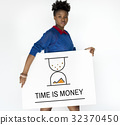 Hourglass Sandglass Timer Icon Word 32370450